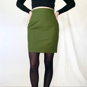 Vintage 90s United Colors of Benetton Green Skirt